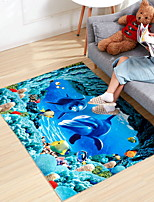 cheap -Area Rugs Classic / Modern Polyster, Rectangular Superior Quality Rug