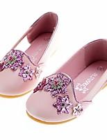 Недорогие -Девочки Обувь Искусственная кожа Весна & осень Удобная обувь / Детская праздничная обувь На плокой подошве для Розовый / Светло-синий