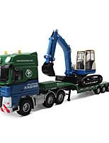 Недорогие -Игрушечные машинки Экскаватор Транспорт / Транспортер грузовик Вид на город / Cool / утонченный Металл Все Для подростков Подарок 1 pcs