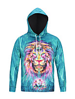 cheap -Men's Basic Hoodie - Character, Print