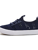 cheap -Boys' / Girls' Shoes Canvas Spring / Fall Comfort Sneakers for Black / Blue / Pink