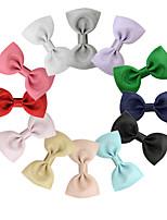 Недорогие -Швейные булавки Аксессуары для волос Шёлковая ткань рипсового переплетения парики Аксессуары Девочки 12pcs штук 7 см см На каждый день Украшения для волос обожаемый