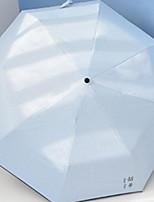 Недорогие -пластик / Нержавеющая сталь Все Новый дизайн / Творчество Складные зонты