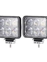 Недорогие -2pcs Автомобиль Лампы 30 W Интегрированный LED 3000 lm 6 Светодиодная лампа Внешние осветительные приборы For Универсальный 2018