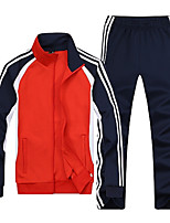 cheap -Men's Basic Sweatshirt - Striped