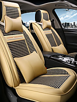 cheap -ODEER Car Seat Covers Seat Covers Beige Textile Common for universal All years All Models