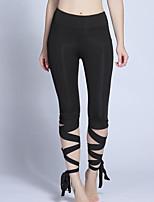 preiswerte -Damen Alltag Grundlegend Legging - Solide Hohe Taillenlinie