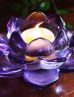 Недорогие -Европейский стиль Пластик Подсвечники Канделябр 1шт, Свеча / подсвечник