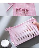 cheap -Women's Bags PVC(PolyVinyl Chloride) Clutch Zipper White / Black / Blushing Pink