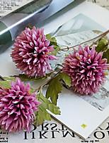 Недорогие -Искусственные Цветы 1 Филиал Классический Стиль / европейский Хризантема Букеты на стол