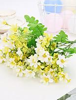 Недорогие -Искусственные Цветы 2 Филиал Классический Деревня / Modern Хризантема Букеты на стол