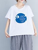 economico -T-shirt Per donna Essenziale Con stampe, Fantasia geometrica