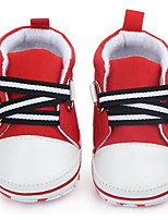 cheap -Girls' Shoes Canvas Spring / Fall Comfort Sneakers Magic Tape for Baby Red