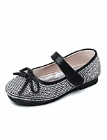 cheap -Girls' Shoes PU(Polyurethane) Spring / Fall Comfort / Flower Girl Shoes Flats for Gold / Black / Pink