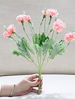 Недорогие -Искусственные Цветы 1 Филиал Классический Стиль Гвоздика Букеты на стол