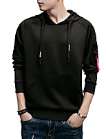 cheap -Men's Basic / Street chic Hoodie - Solid Colored