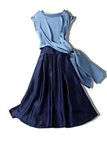cheap -Miss French Women's Set - Solid Colored Skirt