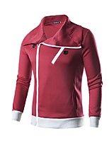 cheap -Men's Active / Basic Sweatshirt - Solid Colored