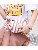 cheap -Women's Bags Canvas Shoulder Bag Pattern / Print Blue / Blushing Pink