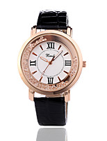 cheap -Women's Wrist Watch Chinese Casual Watch Leather Band Fashion Black / White / Red