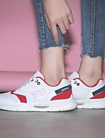 cheap -Women's Shoes Mesh Spring & Summer Comfort Flats Flat Heel Closed Toe Red / Blue / Pink