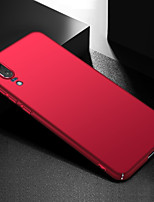 cheap -Case For Huawei P20 Ultra-thin Back Cover Solid Colored Hard PC for Huawei P20