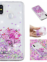 cheap -Case For Xiaomi Redmi Note 5 Pro / Mi 8 Flowing Liquid / Pattern / Glitter Shine Back Cover Tree / Glitter Shine Soft TPU for Xiaomi Redmi Note 5 Pro / Xiaomi Redmi Note 4X / Xiaomi Redmi Note 4