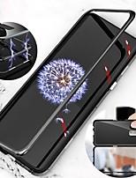 Недорогие -Кейс для Назначение SSamsung Galaxy S9 Plus / S9 Магнитный Чехол Однотонный Твердый Металл для S9 / S9 Plus / S8 Plus