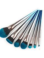 baratos -7 pcs Pincéis de maquiagem Profissional Maquiagem Fibra de Nailom Cobertura Total / Cores Gradiente Plástico