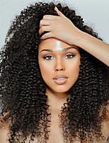 Недорогие -3 Связки Вьетнамские волосы Kinky Curly Натуральные волосы Человека ткет Волосы / Сувениры для чаепития / One Pack Solution 8-28 дюймовый Ткет человеческих волос