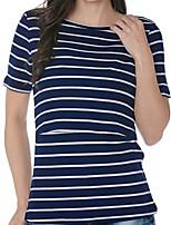 cheap -Women's Active T-shirt - Striped Lion