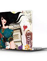 """Недорогие -MacBook Кейс Соблазнительная девушка ПВХ для MacBook Pro, 13 дюймов / MacBook Air, 13 дюймов / New MacBook Air 13"""" 2018"""