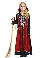 preiswerte -Hexe Austattungen Mädchen Halloween / Karneval / Kindertag Fest / Feiertage Halloween Kostüme Rose Solide / Halloween Halloween