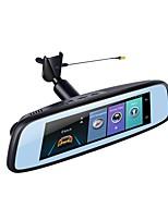 economico -Factory OEM 1080p HD / Visione notturna Automobile DVR 140 Gradi Angolo ampio 12 MP 7.85 pollice IPS Dash Cam con Wi-fi / GPS / Visione notturna Registratore per auto