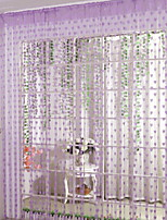preiswerte -Türverkleidung Gardinen Vorhänge Wohnzimmer Geometrisch Baumwolle / Polyester Reaktivdruck