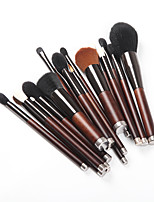 cheap -19pcs Makeup Brushes Professional Skin Care Wool / Fiber Full Coverage Wooden / Bamboo