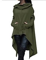 economico -Impermeabile Per donna Essenziale / Moda città - Tinta unita