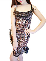 cheap -Women's Suits Nightwear - Lace, Leopard