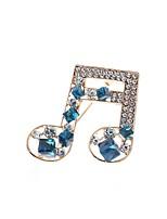 economico -Per donna Zirconi Spille - Elegante Spilla Blu Per Matrimonio / Festival