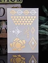 economico -Trustfire 1 pcs Tatuaggi adesivi Tatuaggi temporanei Serie totem Stile Mini / Ecologico / Monouso arti del corpo Corpo / braccia / braccio / Autoadesivo del tatuaggio