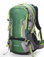 Недорогие -45 L Рюкзаки - Воздухопроницаемость На открытом воздухе Пешеходный туризм, Походы, Путешествия Оранжевый, Военно-зеленный, Зеленый