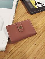 cheap -Women's Bags PU(Polyurethane) Wallet Zipper Green / Black / Blushing Pink