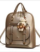cheap -Women's Bags PU(Polyurethane) Backpack Zipper Purple / Fuchsia / Sky Blue