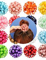 abordables -élastiques Accessoires pour cheveux Gros-grain Perruques Accessoires Fille 20pcs pcs 7 cm cm Usage quotidien Coiffures Adorable