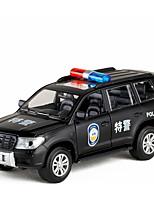 Недорогие -Игрушечные машинки Полицейская машинка Автомобиль Новый дизайн Металлический сплав Детские Для подростков Все Мальчики Девочки Игрушки Подарок 1 pcs