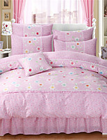 cheap -Duvet Cover Sets Geometric Polyester / Polyamide Embroidery 3 Piece