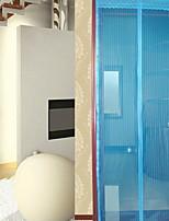 abordables -Panneau de porte Rideaux rideaux Salle de séjour Couleur Pleine Polyester Imprimé