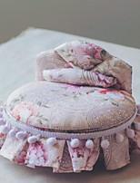 Недорогие -Ткань Круглый Новый дизайн / Очаровательный / Творчество Главная организация, 1шт Органайзеры для украшений