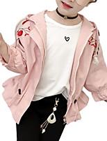 cheap -Kids Girls' Print Long Sleeve Suit & Blazer