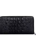 cheap -Men's Bags PU(Polyurethane) Wallet Embossed Black